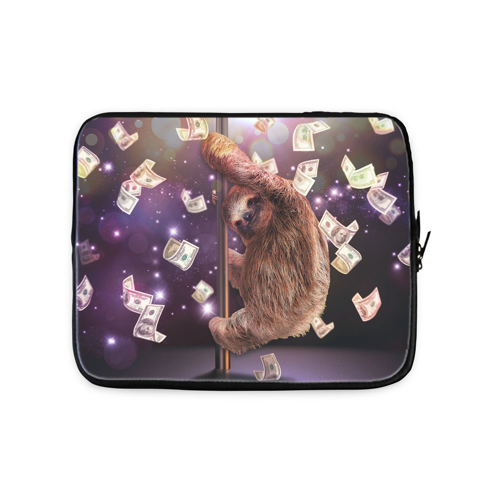 Stripper Sloth Laptop Sleeve-Gooten-10 inch-| All-Over-Print Everywhere - Designed to Make You Smile
