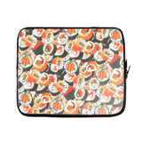 Sushi Invasion Laptop Sleeve-Gooten-15 inch-| All-Over-Print Everywhere - Designed to Make You Smile