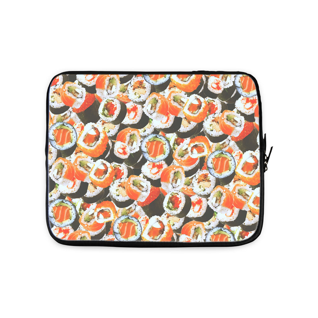 Sushi Invasion Laptop Sleeve-Gooten-10 inch-| All-Over-Print Everywhere - Designed to Make You Smile