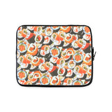 Sushi Invasion Laptop Sleeve-Gooten-13 inch-| All-Over-Print Everywhere - Designed to Make You Smile