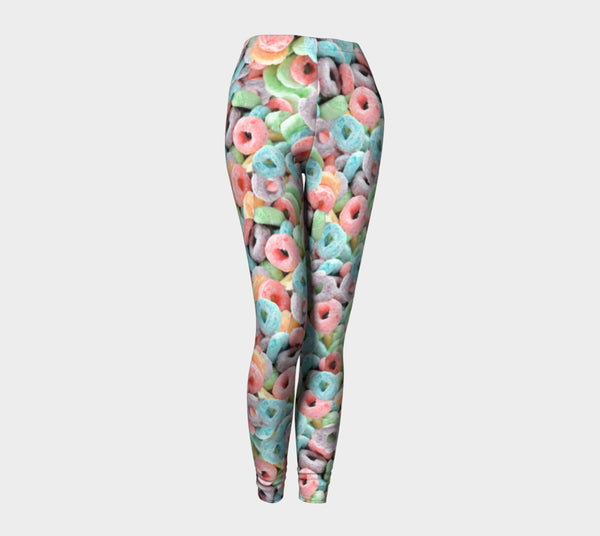 Cereal Invasion Leggings-Shelfies-| All-Over-Print Everywhere - Designed to Make You Smile