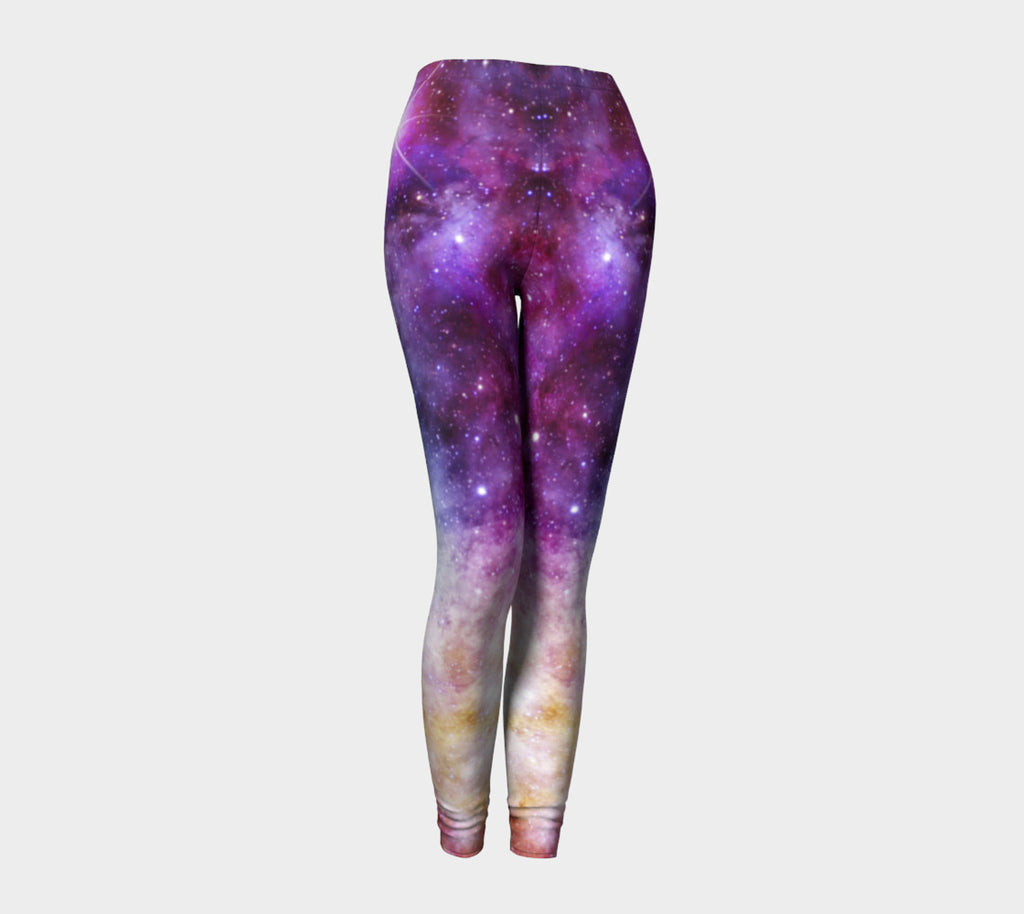Galaxy Love Leggings-Shelfies-| All-Over-Print Everywhere - Designed to Make You Smile