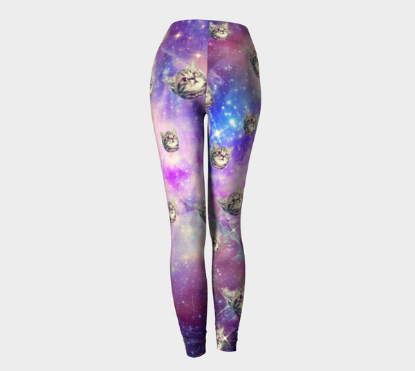 Leggings - Trippin Kitty Kat  Leggings
