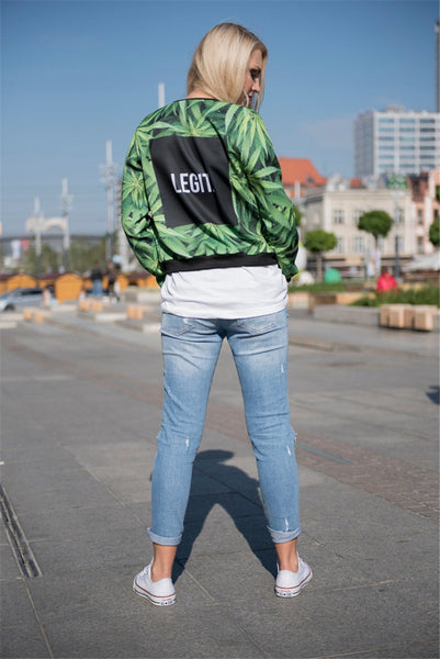 Legit 420 Bomber Jacket-Shelfies-| All-Over-Print Everywhere - Designed to Make You Smile
