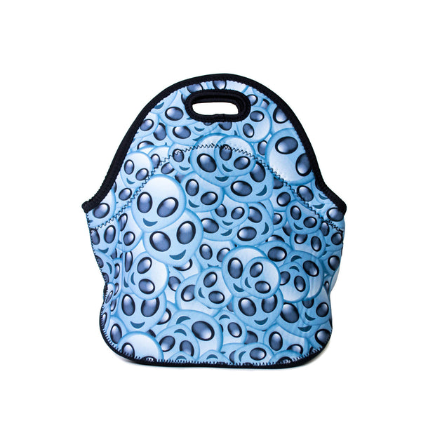 Lunch Bags - Alien Emoji Invasion Lunch Bag