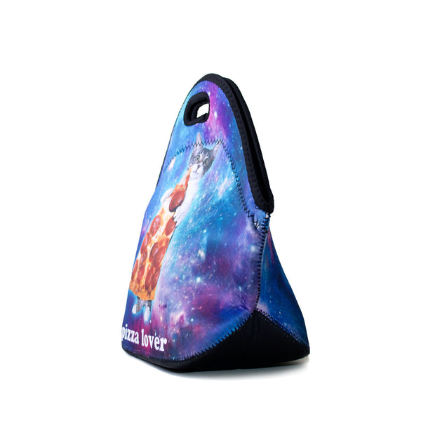 Lunch Bags - Galactic Pizza Cat Lunch Bag