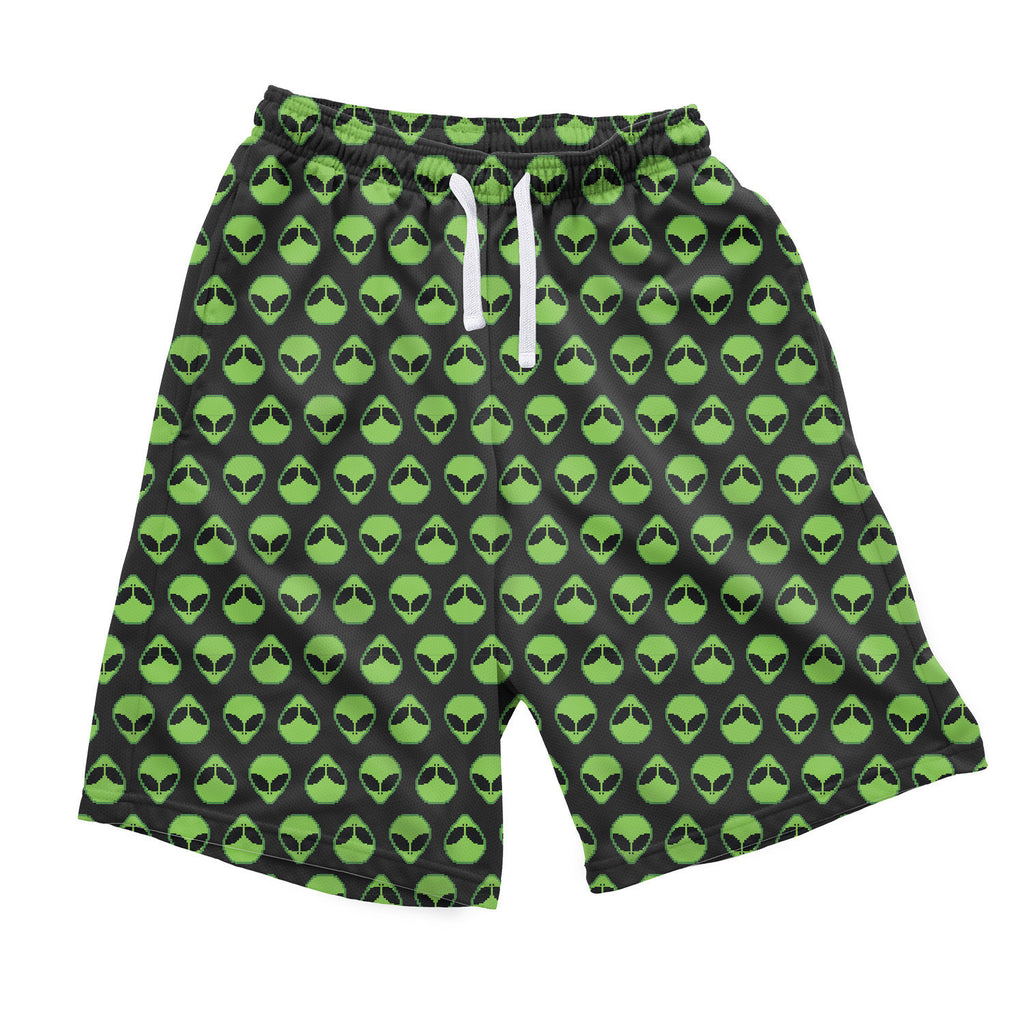 Alienz Men's Shorts-Shelfies-| All-Over-Print Everywhere - Designed to Make You Smile