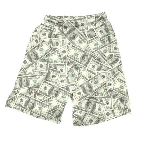 "Money Invasion ""Baller"" Men's Shorts-Shelfies-