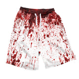 Blood Splatter Men's Shorts-Shelfies-| All-Over-Print Everywhere - Designed to Make You Smile