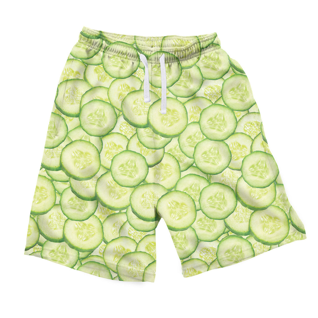 Men's Shorts - Cucumber Invasion Men's Shorts