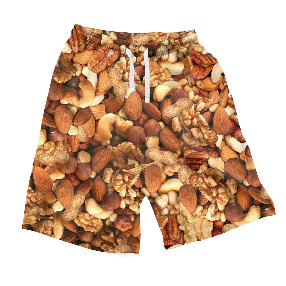 Deez Nuts Invasion Men's Shorts-Shelfies-| All-Over-Print Everywhere - Designed to Make You Smile