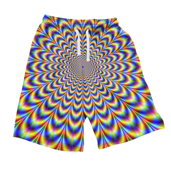 Fractal Pulse Men's Shorts-Shelfies-| All-Over-Print Everywhere - Designed to Make You Smile
