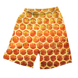 Men's Shorts - Honeycomb Men's Shorts