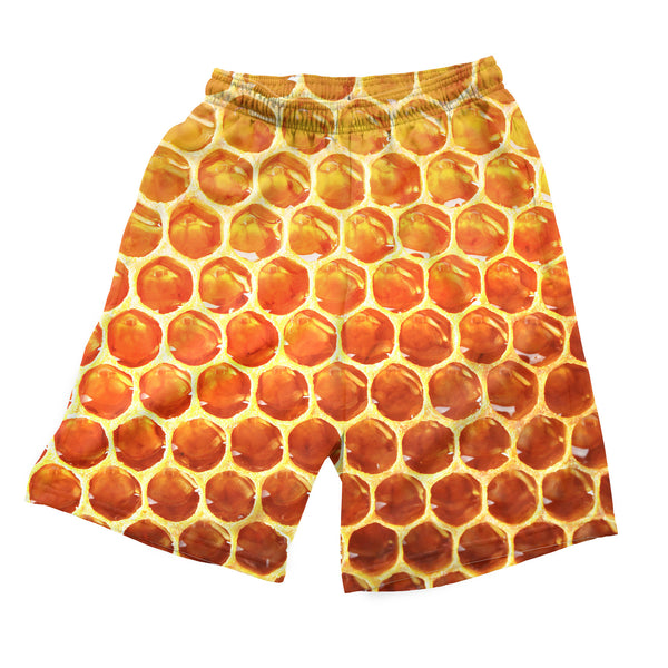 Honeycomb Men's Shorts-Shelfies-| All-Over-Print Everywhere - Designed to Make You Smile