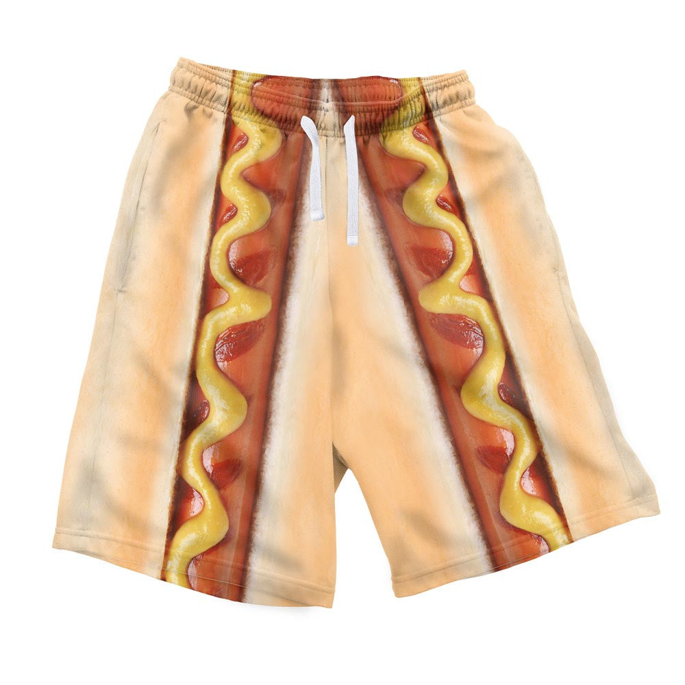 Men's Shorts - Hot Dog Men's Shorts