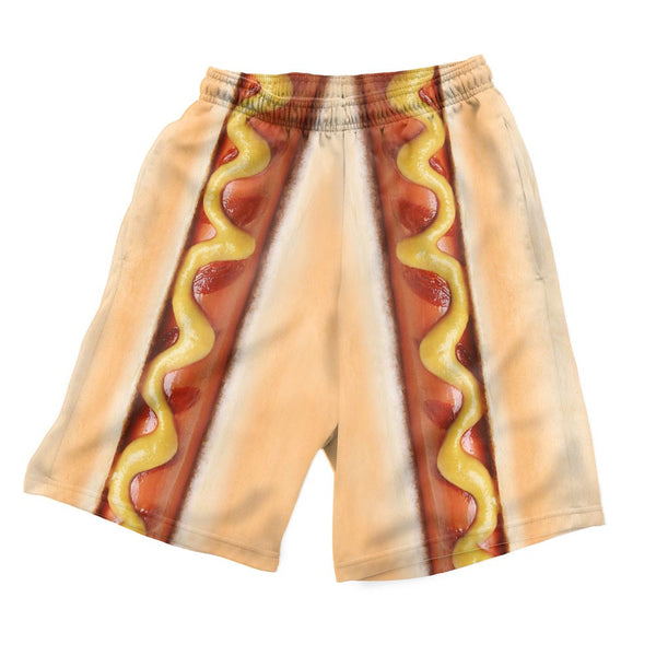 Hot Dog Men's Shorts-Shelfies-| All-Over-Print Everywhere - Designed to Make You Smile