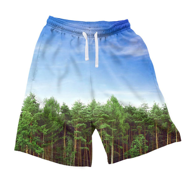 Majestic Forest Men's Shorts-Shelfies-| All-Over-Print Everywhere - Designed to Make You Smile