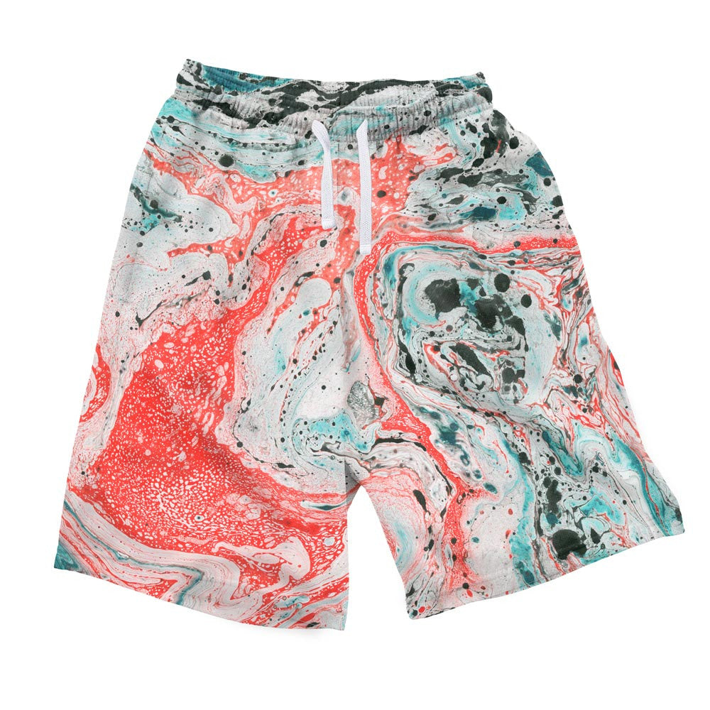 Marble Men's Shorts-Shelfies-S-| All-Over-Print Everywhere - Designed to Make You Smile