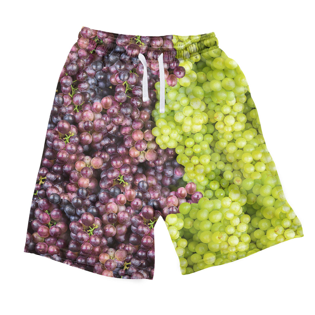 Mixed Grapes Men's Shorts-Shelfies-| All-Over-Print Everywhere - Designed to Make You Smile