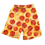 Pizza Invasion Men's Shorts-Shelfies-| All-Over-Print Everywhere - Designed to Make You Smile