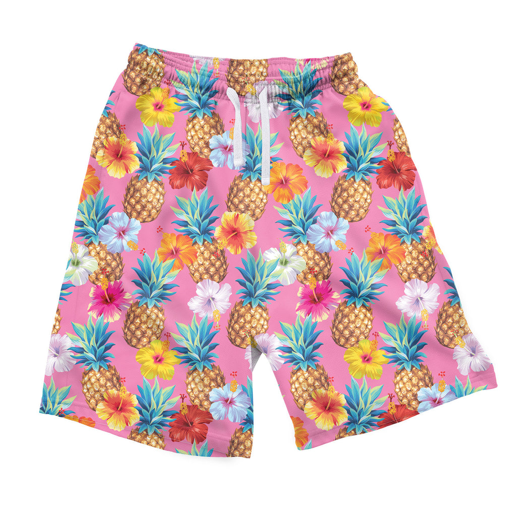 Pineapple Punch Men's Shorts-Shelfies-S-| All-Over-Print Everywhere - Designed to Make You Smile