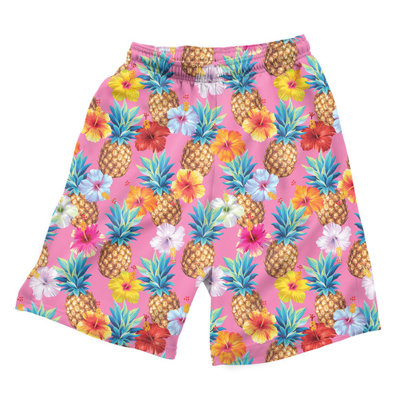 Pineapple Punch Men's Shorts-Shelfies-| All-Over-Print Everywhere - Designed to Make You Smile