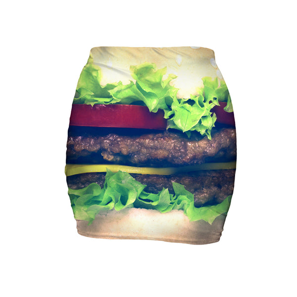 Mini Skirts - Burger Mini Skirt