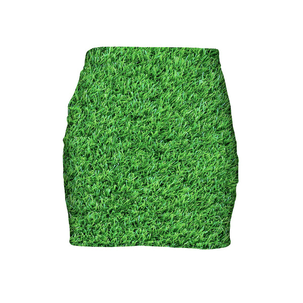 Mini Skirts - Grass Invasion Mini Skirt