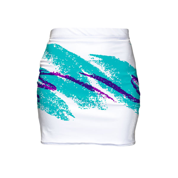 Mini Skirts - Jazz Wave Mini Skirt