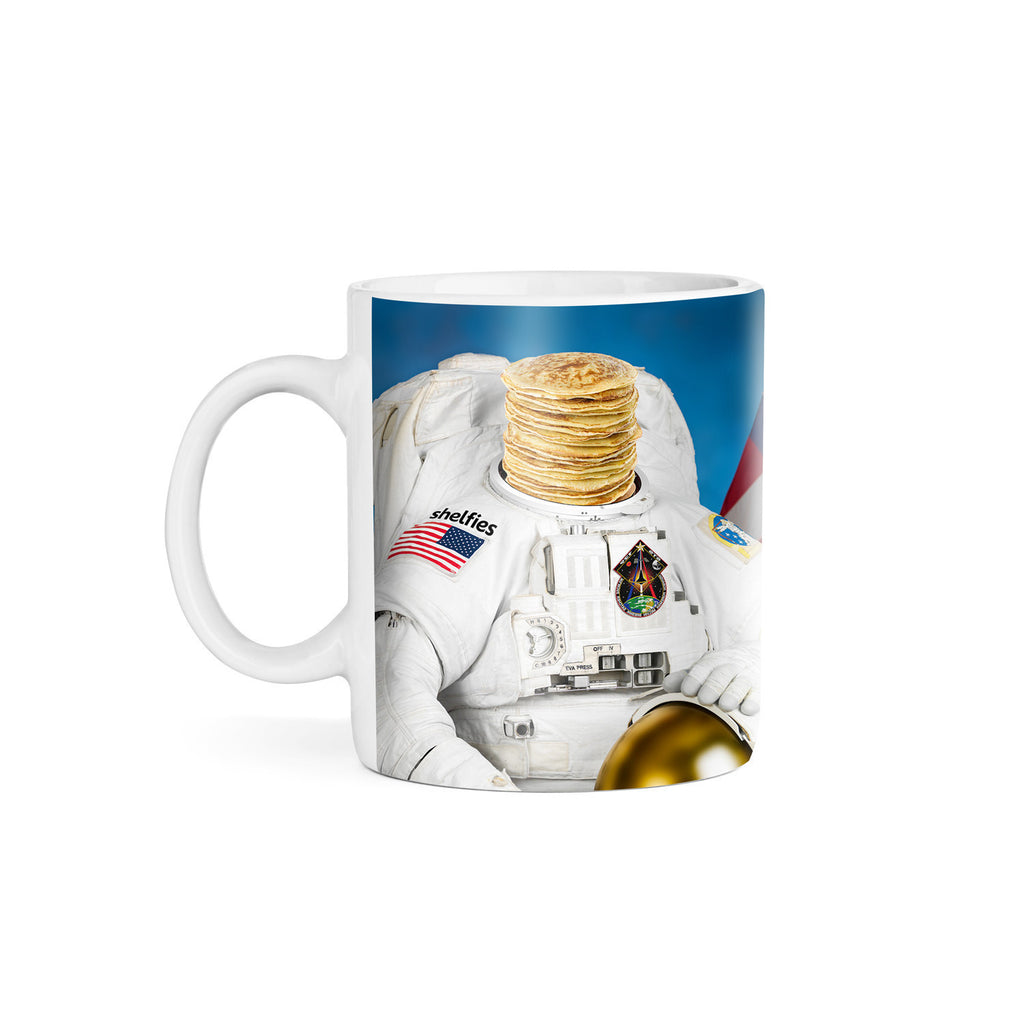 Astronaut Pancakes Coffee Mug-Gooten-11oz-| All-Over-Print Everywhere - Designed to Make You Smile