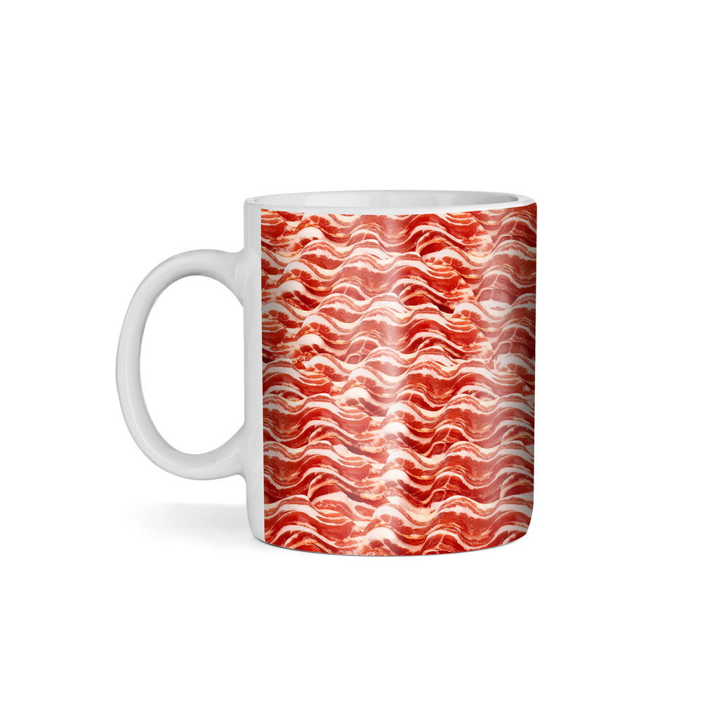 Bacon Invasion Coffee Mug-Gooten-11oz-| All-Over-Print Everywhere - Designed to Make You Smile