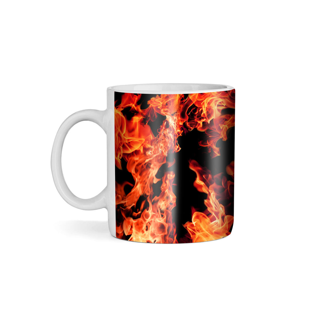 Fire Coffee Mug-Gooten-11oz-| All-Over-Print Everywhere - Designed to Make You Smile