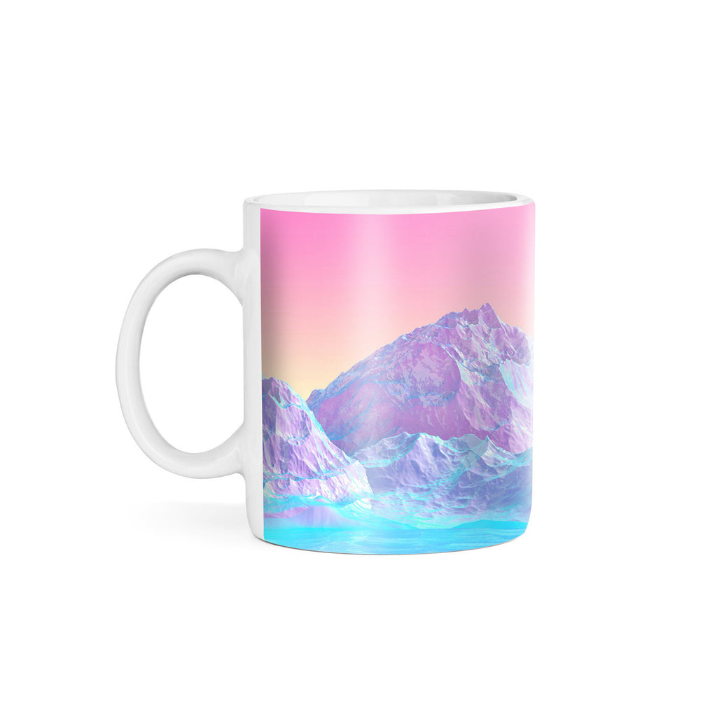 Pastel Mountains Coffee Mug-Gooten-11oz-| All-Over-Print Everywhere - Designed to Make You Smile
