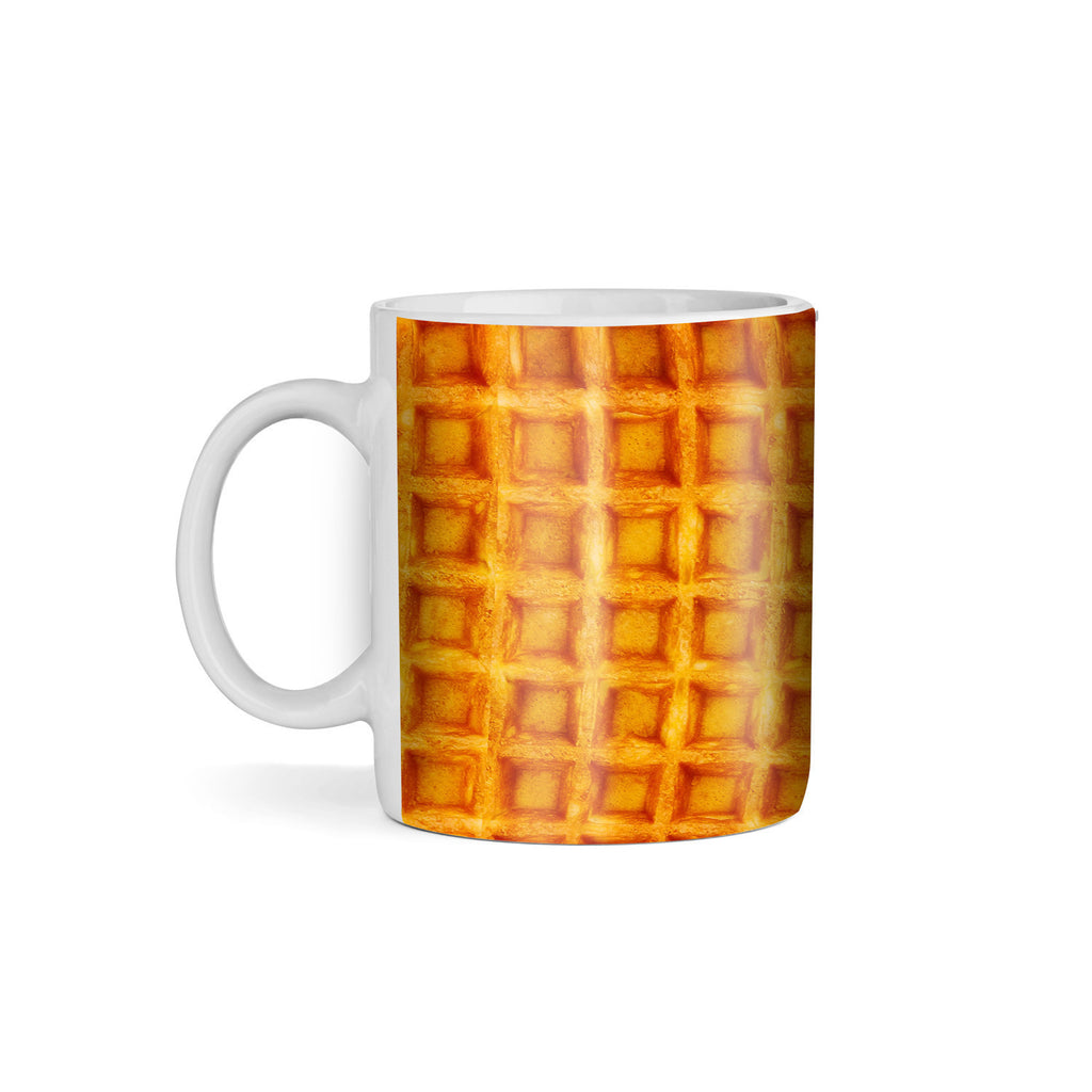 Waffle Invasion Coffee Mug-Gooten-11oz-| All-Over-Print Everywhere - Designed to Make You Smile