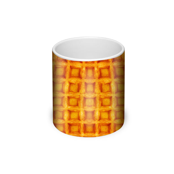 Waffle Invasion Coffee Mug-Gooten-| All-Over-Print Everywhere - Designed to Make You Smile