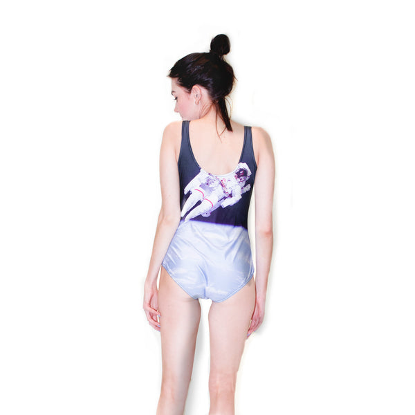 Astronaut Bound One-Piece Swimsuit-Shelfies-| All-Over-Print Everywhere - Designed to Make You Smile