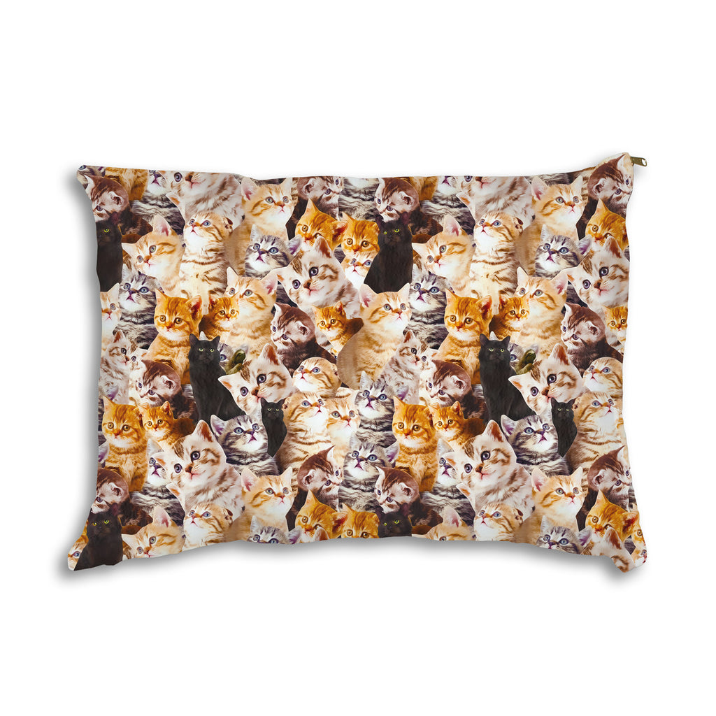 Kitty Invasion Pet Bed-teelaunch-One Size-| All-Over-Print Everywhere - Designed to Make You Smile