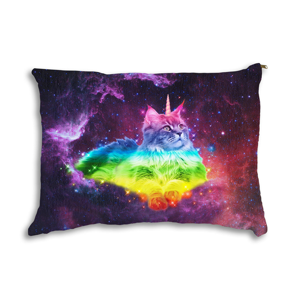 Magical Space Cat Pet Bed-teelaunch-One Size-| All-Over-Print Everywhere - Designed to Make You Smile
