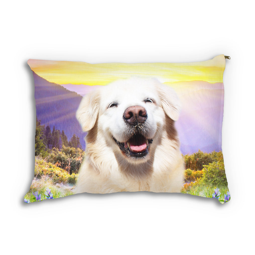 Smiling Dog Pet Bed-teelaunch-One Size-| All-Over-Print Everywhere - Designed to Make You Smile
