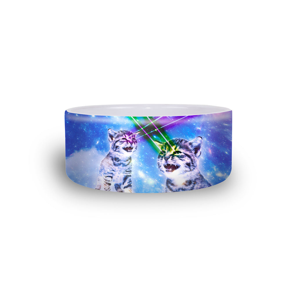 Laser Cat Pet Bowl-teelaunch-One Size-| All-Over-Print Everywhere - Designed to Make You Smile