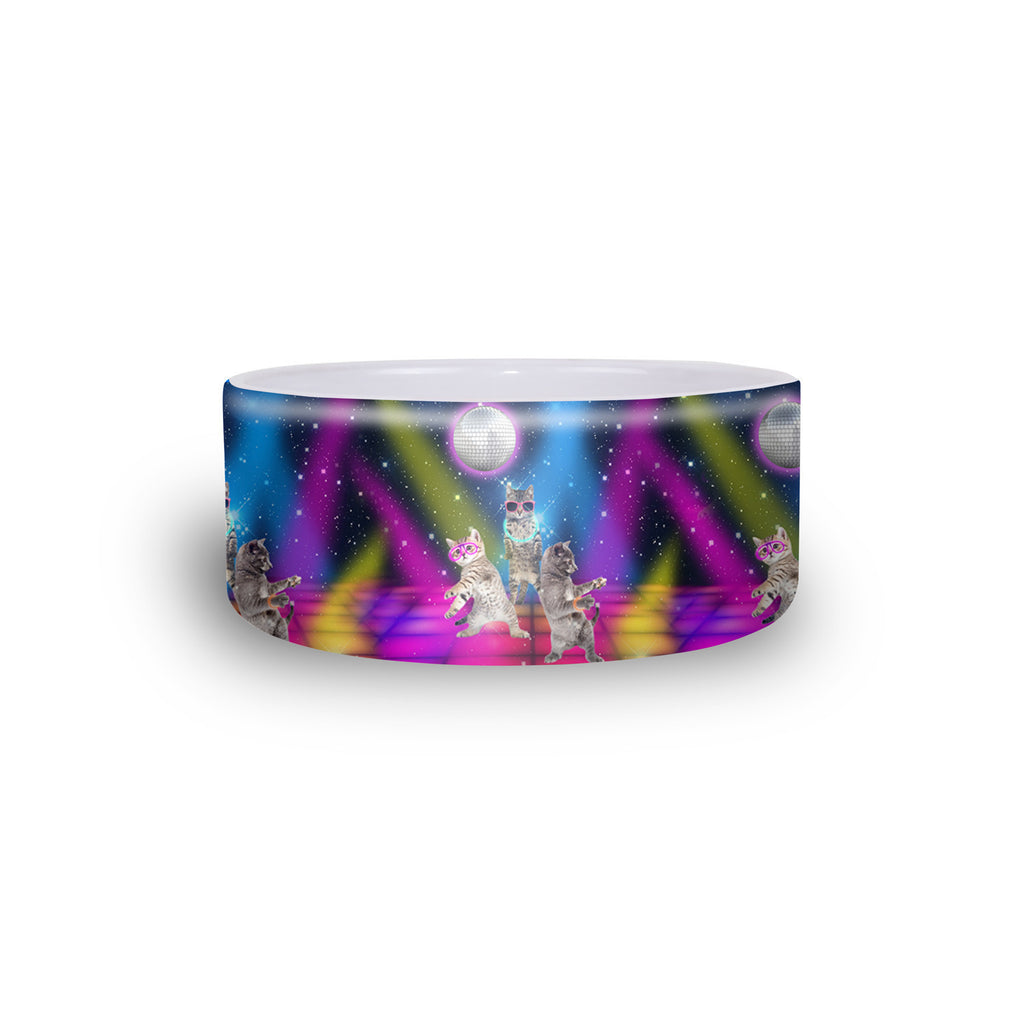Pet Bowls - Party Cats Pet Bowl