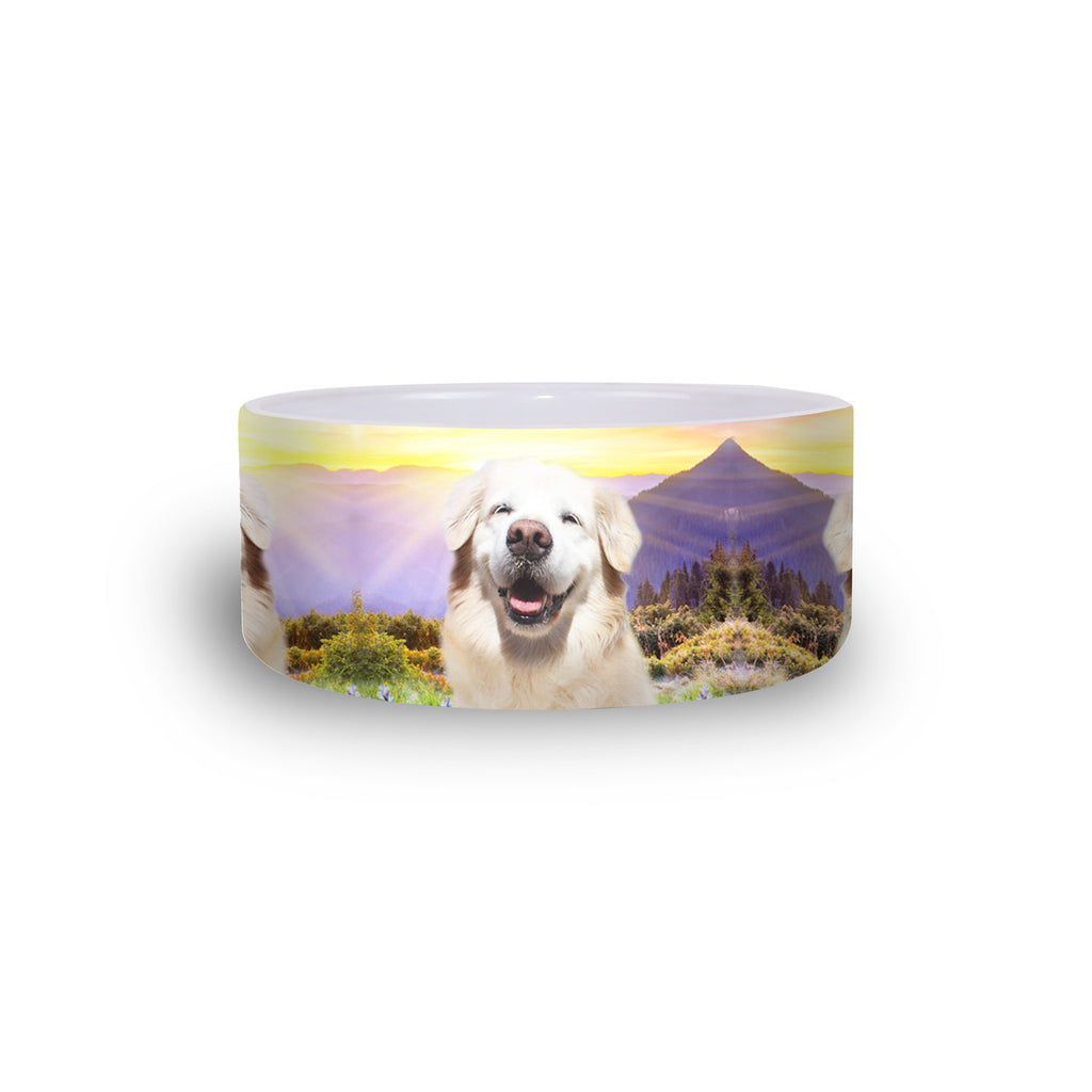 Smiling Dog Pet Bowl-teelaunch-One Size-| All-Over-Print Everywhere - Designed to Make You Smile