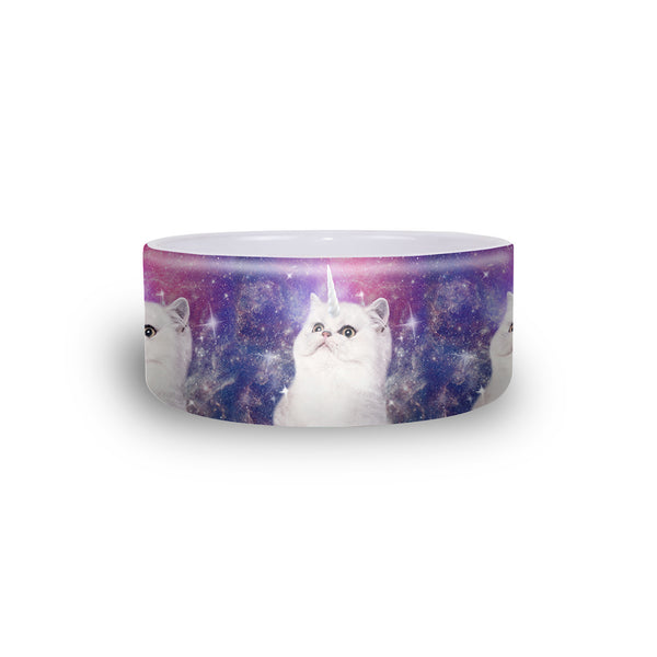 Unikitty Pet Bowl-teelaunch-One Size-| All-Over-Print Everywhere - Designed to Make You Smile