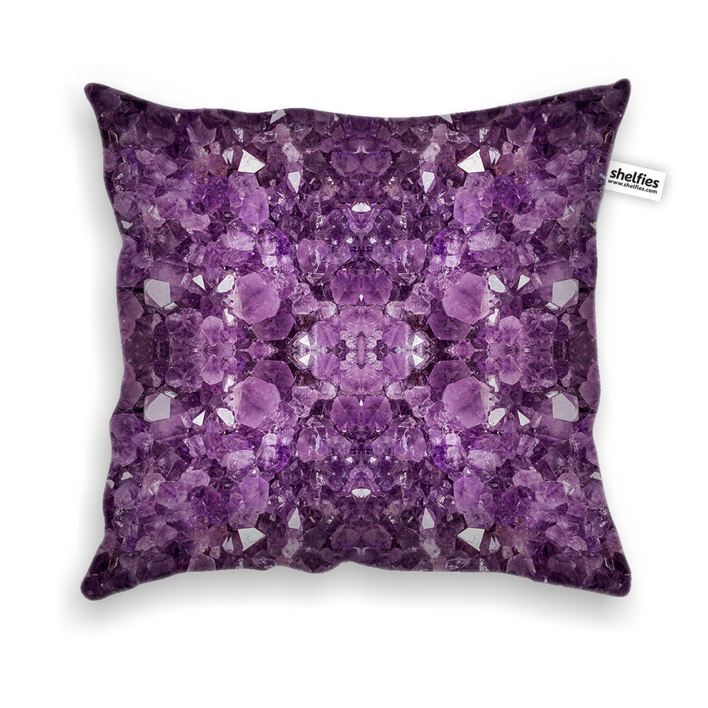 Pillow Cases   Amethyst Throw Pillow Case