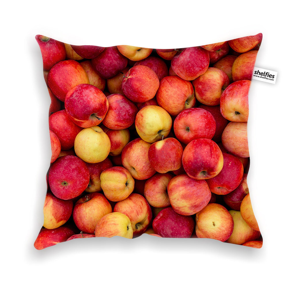 Apple Invasion Throw Pillow Case-Shelfies-| All-Over-Print Everywhere - Designed to Make You Smile