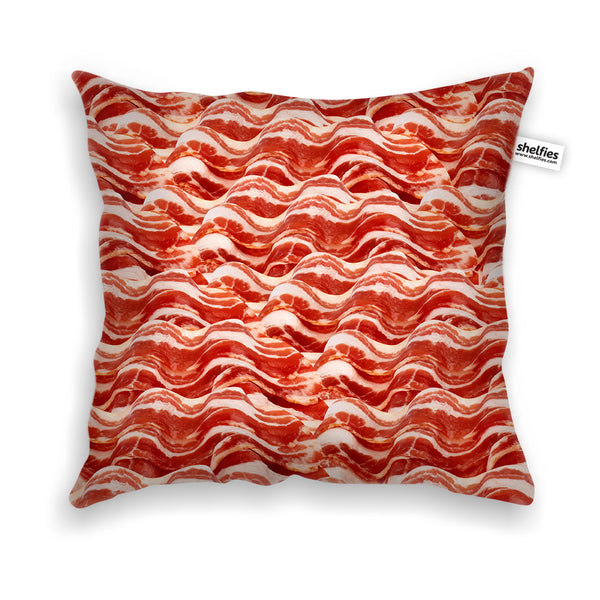 Pillow Cases - Bacon Invasion Throw Pillow Case