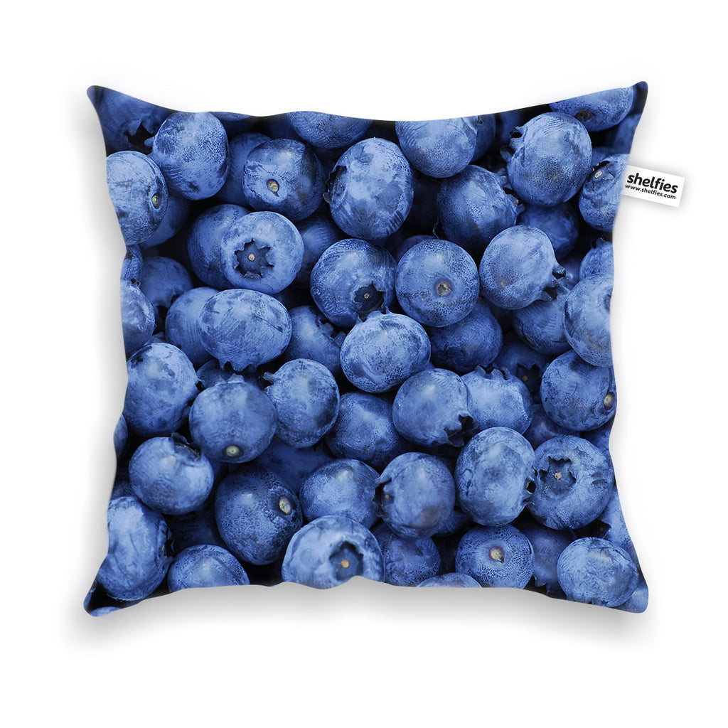 Blueberry Invasion Throw Pillow Case-Shelfies-| All-Over-Print Everywhere - Designed to Make You Smile