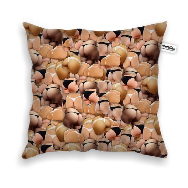 Pillow Cases - Booty Invasion Throw Pillow Case