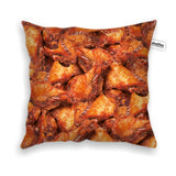 Pillow Cases - Chicken Wings Invasion Throw Pillow Case