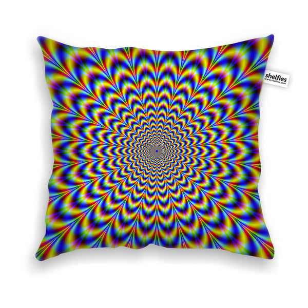 Pillow Cases - Fractal Pulse Throw Pillow Case
